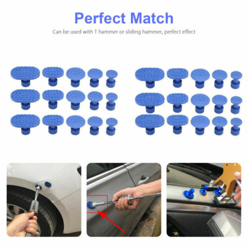 Removal Tool Car Body Paintless Dent Repair Tools Glue Puller Lifter Hail Damage
