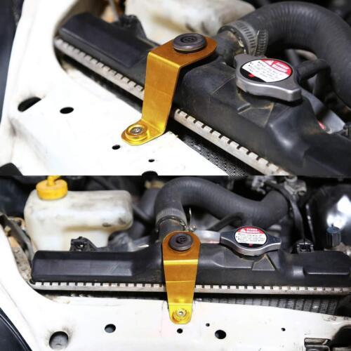 JDM Billet Aluminum Racing Radiator Stay Bracket Kit for Honda Civic 92-95 EG