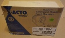X Acto Model 41 Commercial Electric Pencil Sharpener Euro Plug 41 Please Read