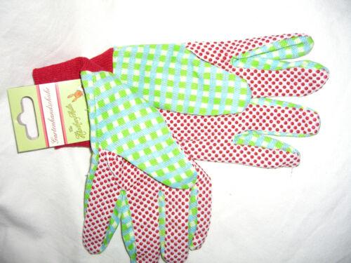 Gartenhandschuhe für Erwachsene mit Noppen Die Häschenschule neu ovp
