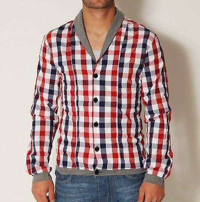 Adattabile Vsct Clubwear Deep Collar Shirt Camicia Rosso A Quadri Dayshirt Manica Lunga Party Red A Quadri-mostra Il Titolo Originale Belle Arti