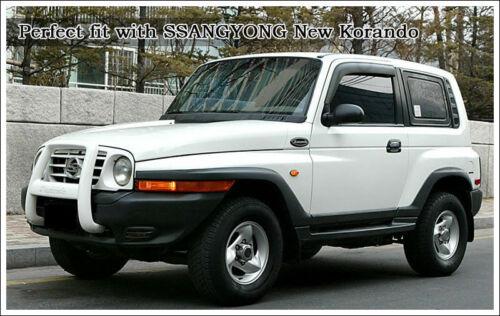 4157508100 Couvercle de moyeu de roue avant emblème 1p pour Korando New Rexton
