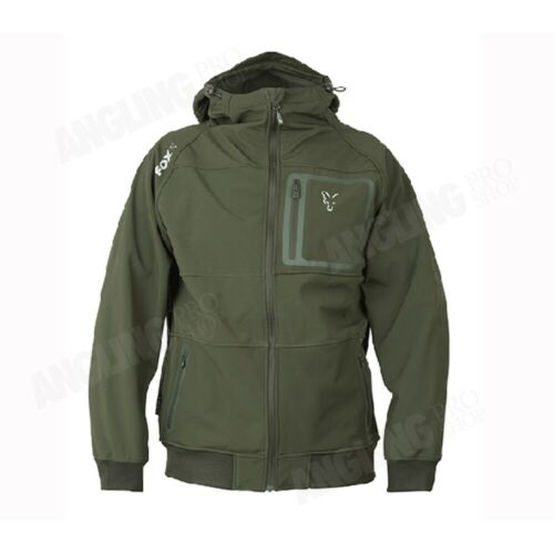 Fox Green Silver Edition Shell Hoody BRAND NEW SAME DAY DISPATCH