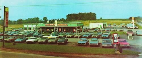 Photo Trostle Oldsmobile Auto Dealership Pennsylvania Butler ca 1974