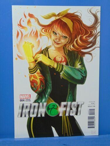 Iron Fist #4 Mary Jane Variant Edition  Marvel Comic CB17520