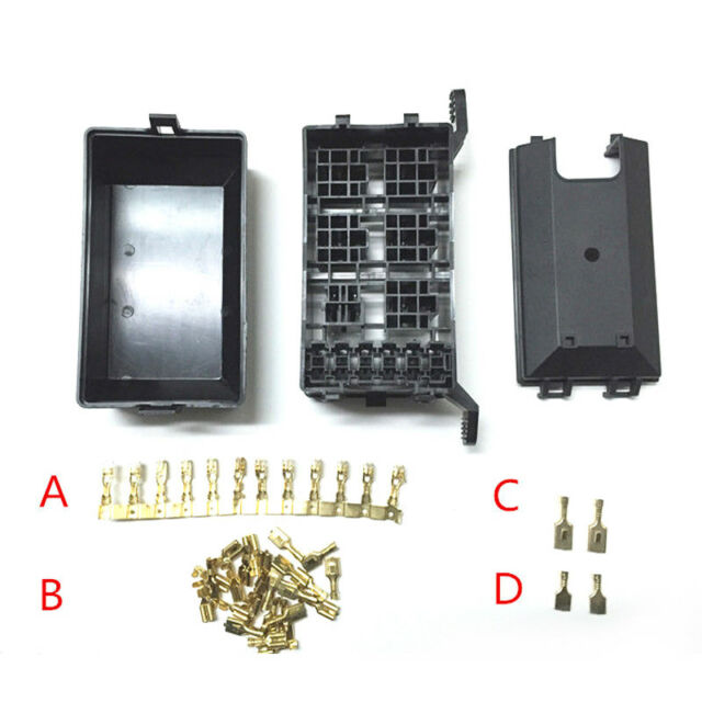 New Car Auto Relays Socket Fuse Box 6 Relay Holder 5 Road The Nacelle Insurance