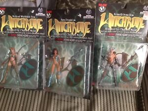 Lot-Of-3-Top-Cow-Witchblade-Figures-New-On-Card