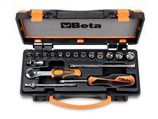 Beta Tools 900/C13-5 18Pc 1/4 Socket & Bit Set inc Extension Bar Universal Joint