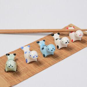 Ceramic-Chopstick-Rest-Seal-Animal-Holder-Spoon-Fork-Knife-Stand-Rack-Home-Acc