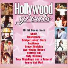 HOLLYWOOD GREATS - PROMO CD: GHOST, DIRTY DANCING, FLASHDANCE, NOTTING HILL ETC