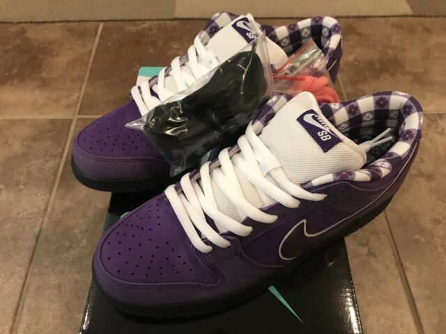 "best sneakers e0710 6951a Nike SB Dunk Low ""Purple Lobster"" Size 11"