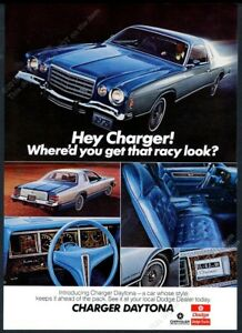 """1975 Plymouth Road Runner Car Sales Flyer Ad 10/"""" x 7/"""" Reproduction Metal Sign"""