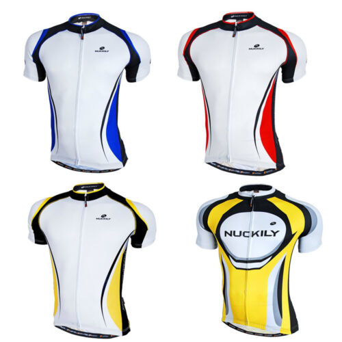 Men/'s Sportwear Cycling Jersey Bike Bicycle Short Sleeve Cycling Clothing Tops