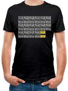 NA-NA-NA-Batman-Ufficiale-DC-COMICS-IL-CAVALIERE-OSCURO-Nero-Da-Uomo-T-shirt