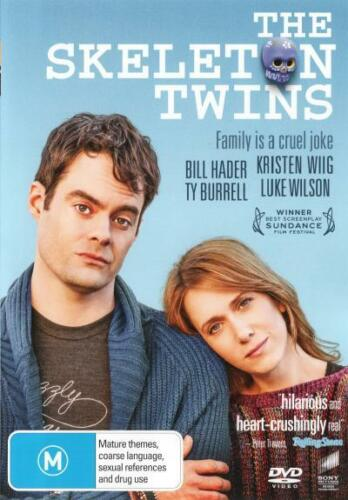 1 of 1 - The Skeleton Twins  - DVD - NEW Region 4, 2