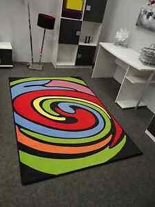 Teppich Modern Art Farbenspiel Modell 2 Velours Wohnzimmer