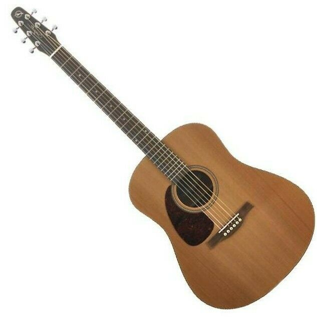 Seagull  S6 Cedar Original Left-Handed Acoustic/Electric Guitar with Quantum I Pickup . New On-Sale