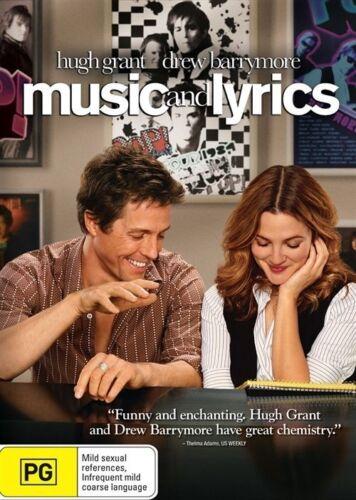 1 of 1 - Music And Lyrics (DVD, 2007)