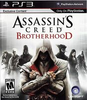 Assassin's Creed: Brotherhood (Sony PlayStation 3, 2010) Video Games