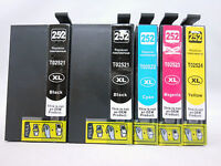 5Pk T252XL Ink Cartridge for Epson WorkForce WF3620 WF3640 WF7110 WF7610 WF7620