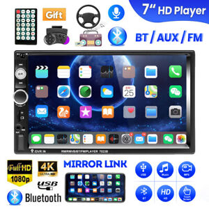 7-034-Double-2-DIN-Car-Stereo-Radio-MP5-Player-Bluetooth-Touch-Screen-FM-USB-AUX-TF