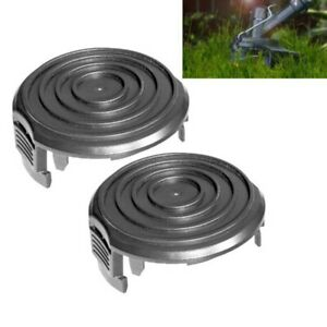 2 X Grass Trimmer Spool Cap Cover For WA0037 WORX 40V 56V Trimmer Replacement
