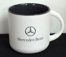 Genuine Mercedes Benz Lifestyle Collection White Ceramic Mug FREE SHIPPING