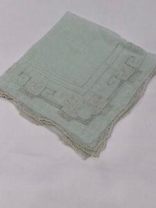 Vintage-Embroidered-Light-Blue-Antique-handkerchiefs