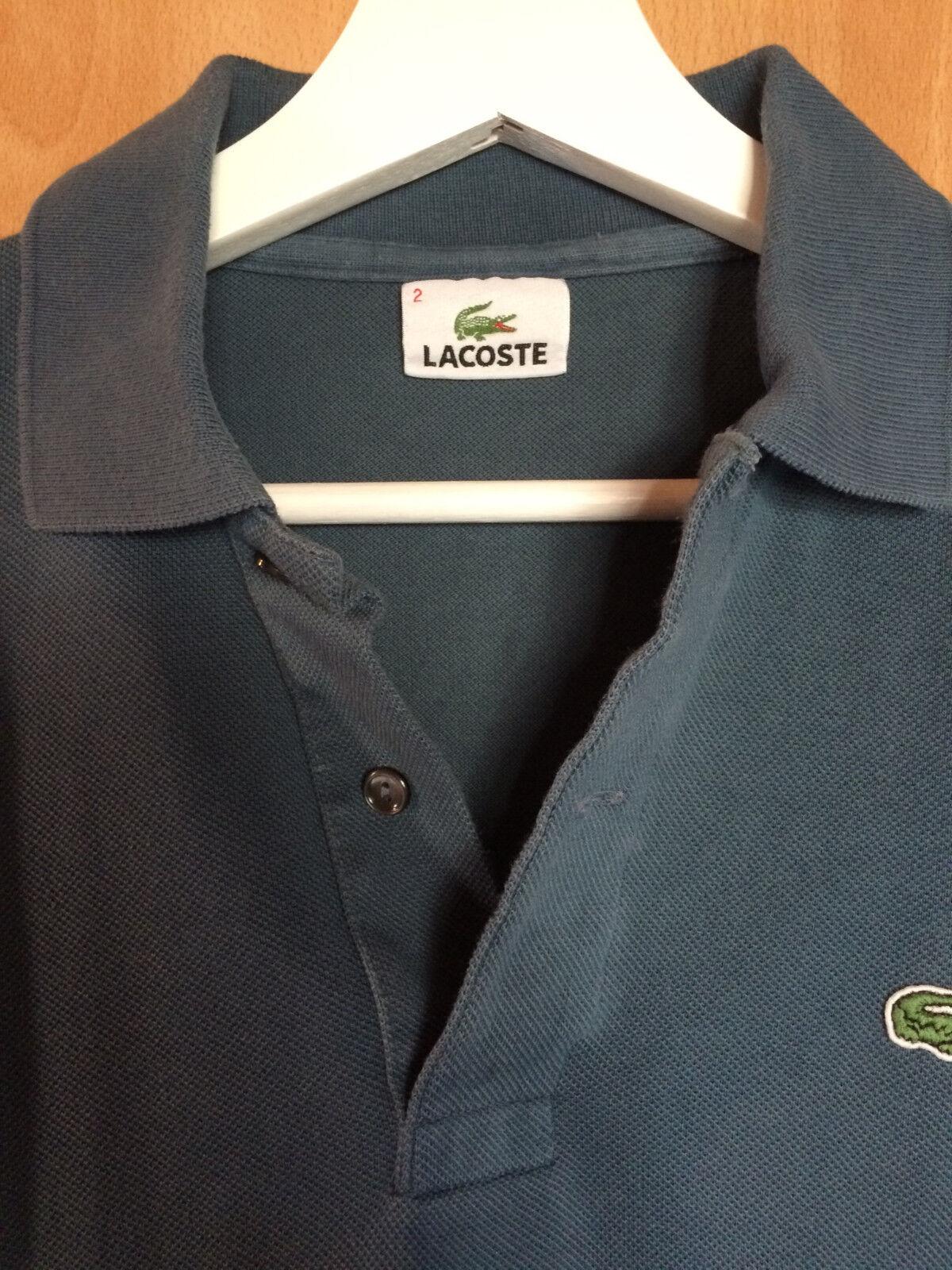 Lacoste Lacoste Lacoste Polo Polohemd Poloshirt Blau Größe 2 Herren | Shop Düsseldorf  | Verkaufspreis  | Das hochwertigste Material  5c913a