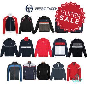 New-Sergio-Tacchini-Mens-Tracktop-Jacket-Jumper-Sweatshirt-Italian-80s-Zipped