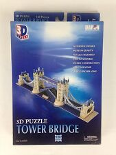 3D Tower Bridge Puzzle 120 Pieces Daron Decorative Collectible New
