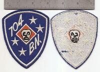 028 Usmc 704th Raider Battalion Patch