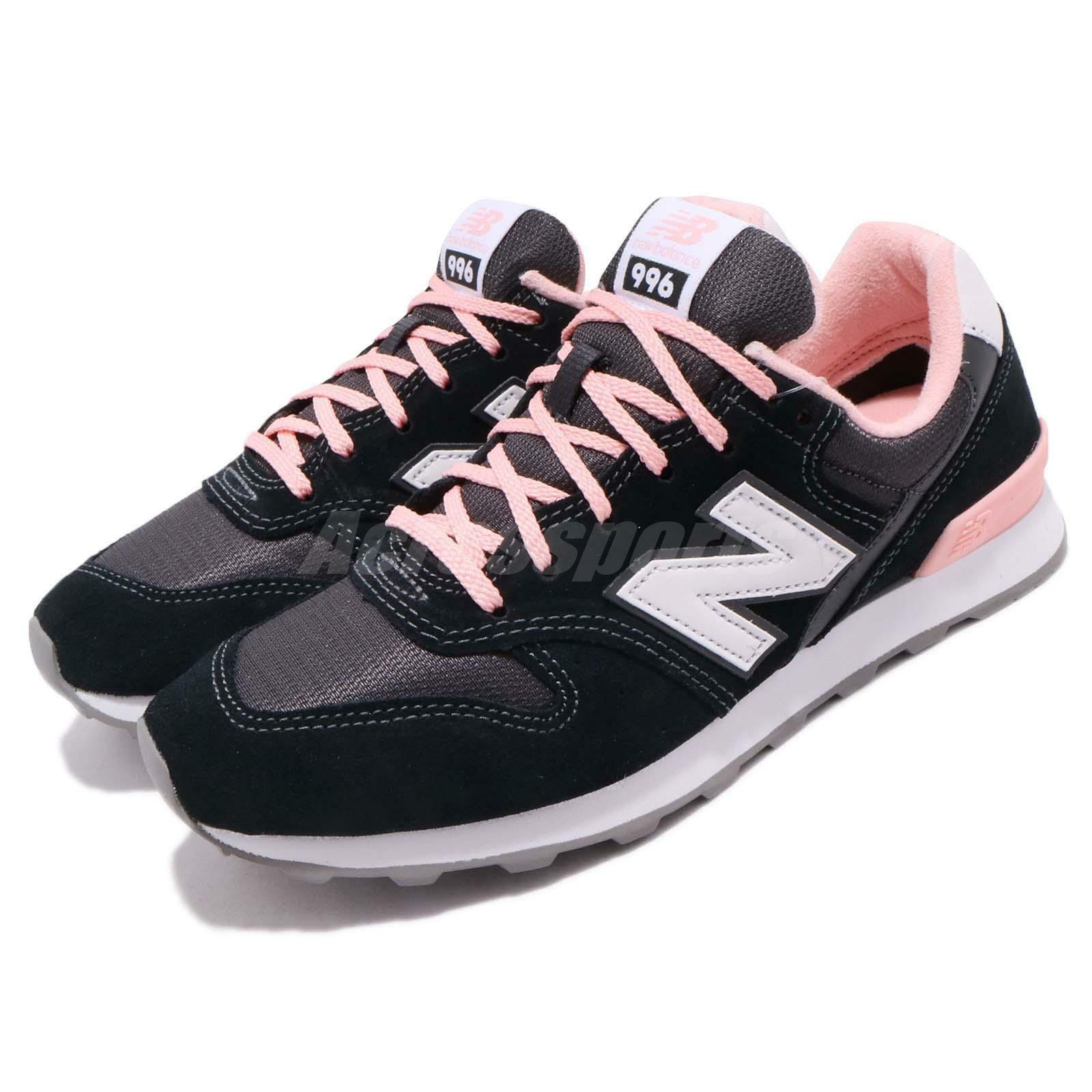 New Balance WR996 D Wide Black Pink Classic Womens Running shoes WR996ACK D