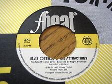 "ELVIS COSTELLO & THE ATTRACTIONS - HIGH FIDELITY  7"" VINYL"