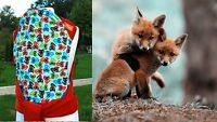 Sale Holiday Travel Mei Tai Since Birth -3 Years Foxes Reversible Supportive
