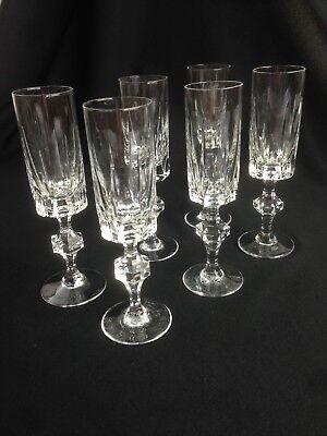 6 Likör Gläser Schweres Bleikristall Bayerkristall 60/70er Jahre