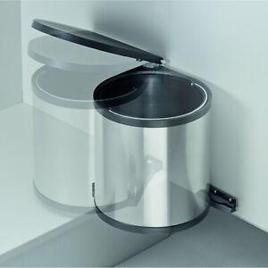 Details zu Wesco Klassik Mülleimer Abfallsammler Küche Einbau Türmülleimer  11 13 15 Liter