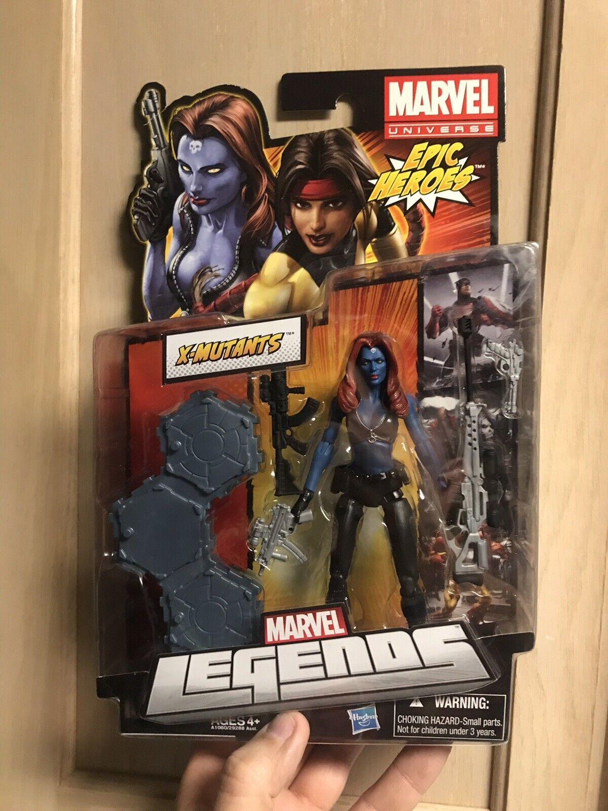 Marvel Legends Mystique Epic  Heroes Series Figure Sexy Moc  achats de mode en ligne