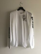 Taglia M carhartt WIP MMC Detroit Soul T-shirt di Cotone 100% AUTH RRP £ 45