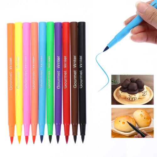 DIY Draw Tool Biscuits Decorating Pigment Pen Cake Brush Food Coloring Drawing