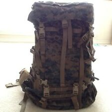 NEW  USMC GEN 2 MARPAT TAN WOODLAND ILBE MAIN PACK w LID BELT COMPLETE ARCYTERYX