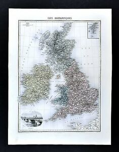 1880-Migeon-Map-British-Isles-England-Wales-Scotland-London-Great-Britain-UK