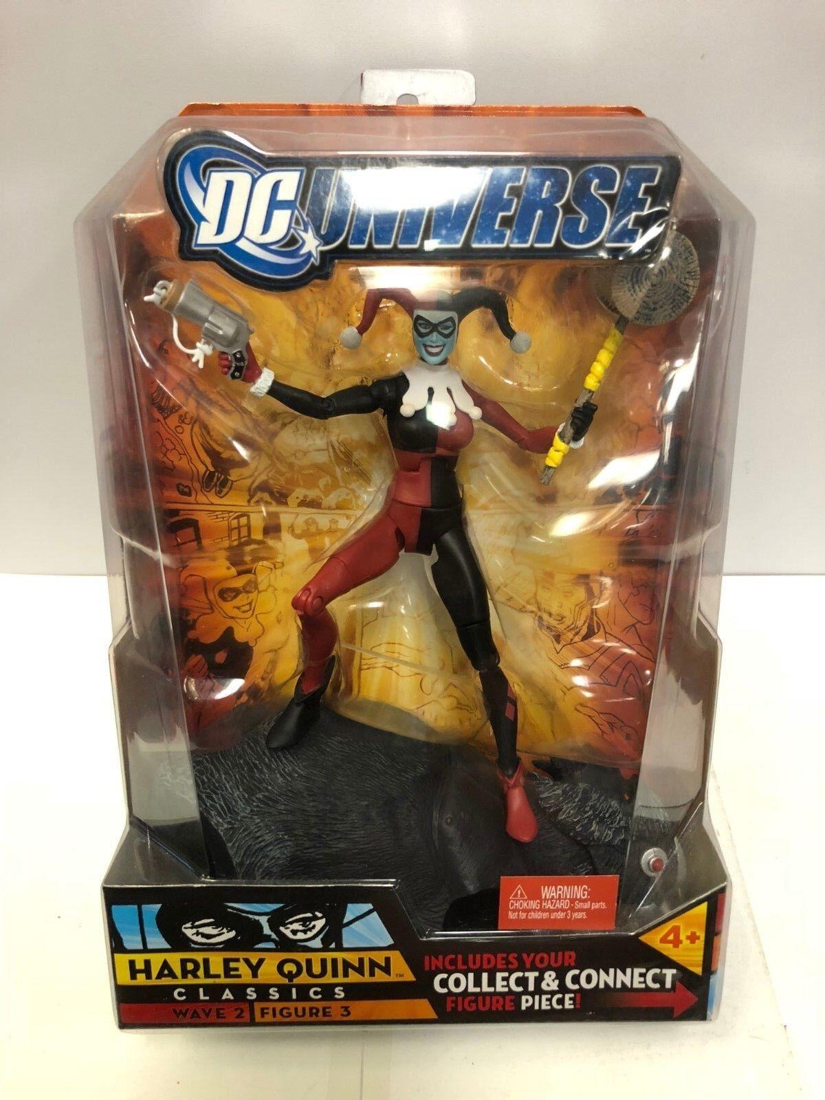 DC Universe Classics Classics Classics Wave 2 Harley Quinn Figure Mattel 2007 7d349a