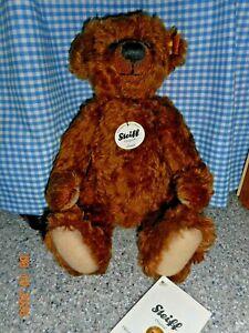 Steiff Mohair Quality Jointed  Jona Teddy Bear Mint New