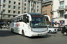 National Express liveried FJ07DVN 6x4 Quality Bus Photo