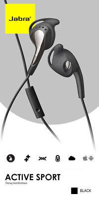 Jabra Active Corded Stereo Headset, Headphone, Earphone BNIB for 3.5mm plug 5707055023897   eBay