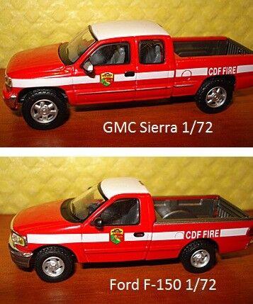1 72 Ford F-150,GMC Sierra. Boley.Cararama 2 models.