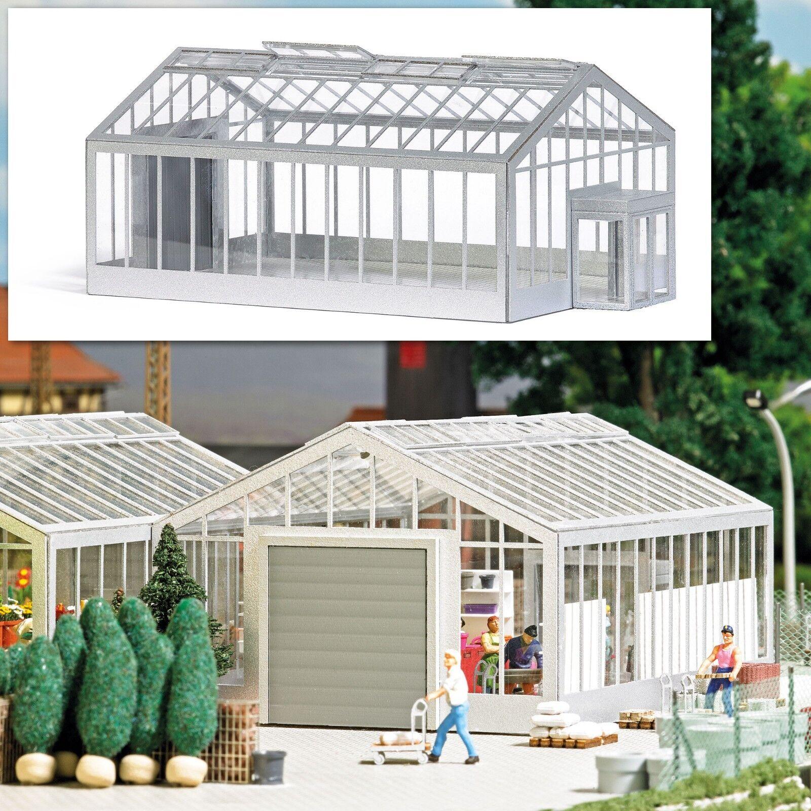 NEW RELEASE   HO 1 87 scale  Busch Garden Center Greenhouse KIT