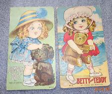 pair Penn De Barthe childrens book Dimple Dot Betty and Teddy