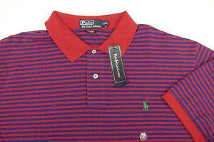 c3a974836a2 Polo Ralph Lauren Thin Striped Mesh Shirt $89 XXL Blue Red Green ...